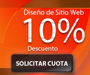 Diseno de Sitio Web con 10% de descuento