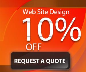 Website design service 10% OFF